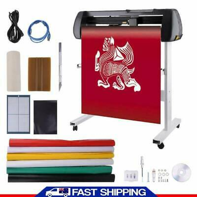 100-240V Vinyl Sign Decal Cutter With Stand Cutting Plotter Kits Contour Plotte!