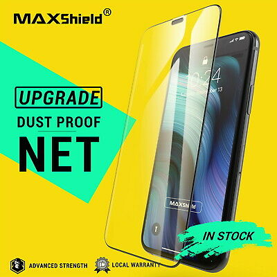 2X MAXSHIELD iPhone 11 Pro Max Full Coverage Tempered Glass Screen Protector