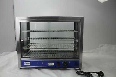Quantum CE ® Hot Food Pie Pastie Warmer Display Cabinet Counter 540mm wide PC580