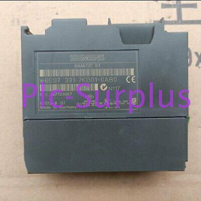 Used Siemens PLC 6ES7 331-7KB00-0AB0 Tested lt In Good Condition