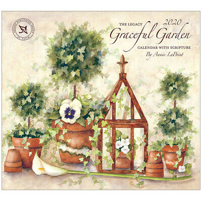 2020 Legacy Calendar GRACEFUL GARDEN New Calender Fits Lang Wall Frame