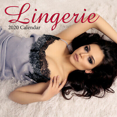 Lingerie - 2020 Premium Square Wall Calendar 16 Months New Year Xmas Decor Gift