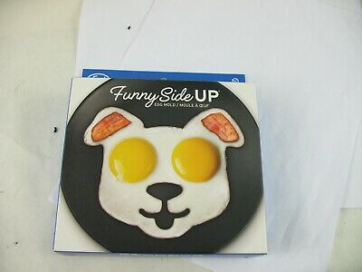 Fred Funny side up egg mold new in box. dog face