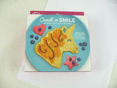 Fred Funny side up egg mold new in box. unicorn