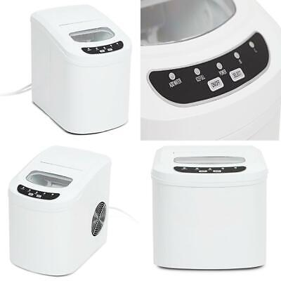 Kenley Electric Ice Cube Maker Machine, White
