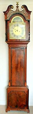 Red Walnut ,8 day ,Longcase Clock by Barwise Mitchell of Cockermouth
