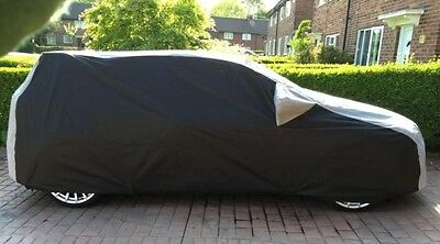 Ford Focus RS Mk2  Outdoor Fully Tailored, Car Cover Black and Grey / In Stock