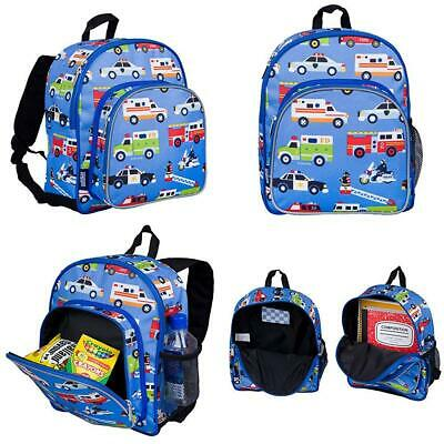 Wildkin Toddler Backpack-Action Vehicles, Polyester, Multi-Colour, Pack 'n...
