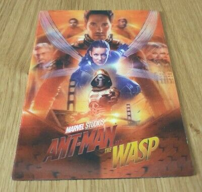 Ant Man & The Wasp Lenticular Magnet For Steelbook
