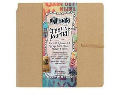 Ranger Dylusions Creative Journal Square, Brown
