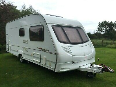 2005 ACE Jubilee Courier 6 Berth Caravan with Garage, Motor Mover and Awning