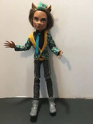 "Monster High 11"" Doll CLAWD WOLF WERE WEREWOLF SWEET 1600 Mattel"
