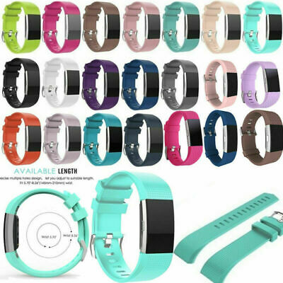 Replacement Silicone Rubber Band Strap Wristband Bracelet Fitbit Blaze Watch New