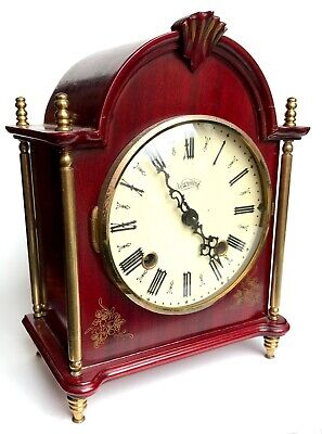 Lovely Vintage Warmink Ting Tang Mantel Bracket Clock