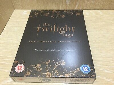The Twilight Saga the complete DVD collection New & Sealed