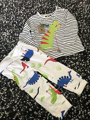 BNWT Joules Baby Boy Two part Set Long Sleeve Top & Trousers  3-6months