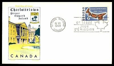 Mayfairstamps 1969 Canada FDC Charlottetown PEI First Day Cover wwb65821
