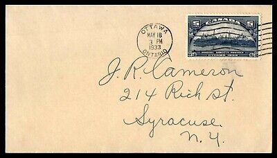 Mayfairstamps 1933 Canada FDC Postal Union First Day Cover wwb66357