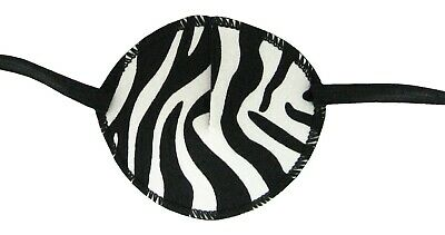 Zebra - Medical Adult Eye Patch, Soft and Washable