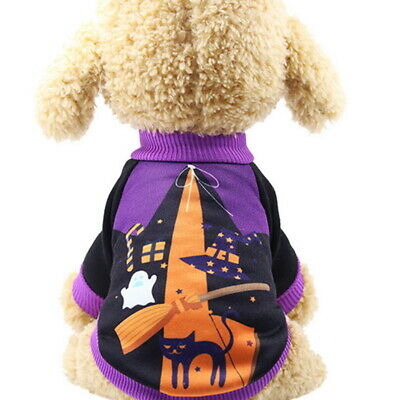 Halloween Christmas Dog Cat Witch Apparel Clothes Pet Supplies Xmas Costume