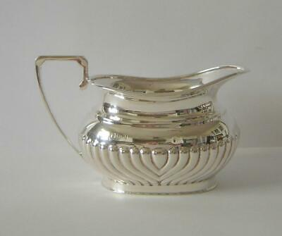 A Vintage Sterling Silver Milk Jug Sheffield 1962 162 Grams