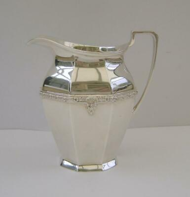 A Sterling Silver Milk Jug London 1938 Goldsmiths & Silversmiths Co 230 Grams