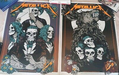 METALLICA & SYMPHONY Poster.  SAN FRANCISCO CHASE CENTER EXP. 9/6/19 AND 9/8/19