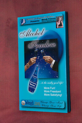 Alcohol Freedom Cure Hypnotherapy 6 CD SET by Wendi Friesen CCHT of WENDI.COM