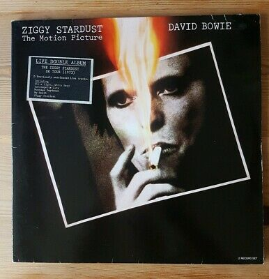 DAVID BOWIE Ziggy Stardust The Motion Picture Vinyl LP 1983 original pressing