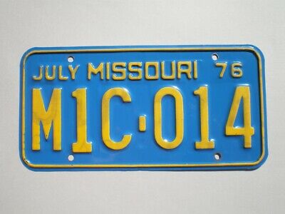 Authentic 2006 Kentucky License Plate
