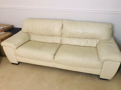 Dfs Me Natural Leather Sofa