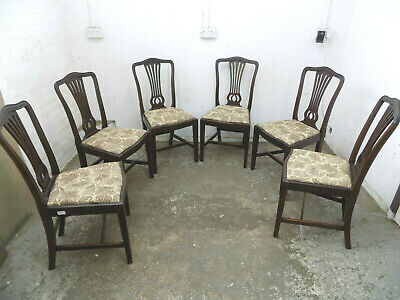 mahogany,dining chairs,square legs,serpentine,drop in seat,six,antique,edwardian