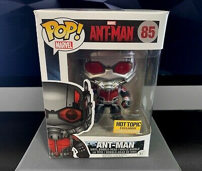 Funko POP! Marvel - Ant-Man #85 - Hot Topic Exclusive - Glow in the Dark