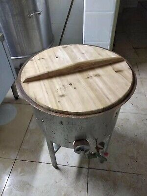 Big Gas Powered Frying Dumpling Pan For Chinese Restaurant