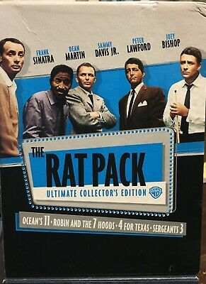 The Rat Pack Ultimate Collectors Edition (DVD, 2008, 4-Disc Set)