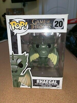 Funko Pop Game of Thrones #20 Baby Rhaegal Dragon Vaulted Figure Daenerys Grail