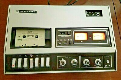 Vintage Panasonic Stereo Cassette Player / Recorder RS-270US