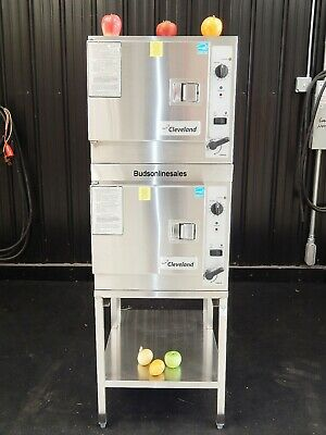 2014 Cleveland Electric Double Steamer Cooking Steam Oven 22Cet3.1 3 Pan
