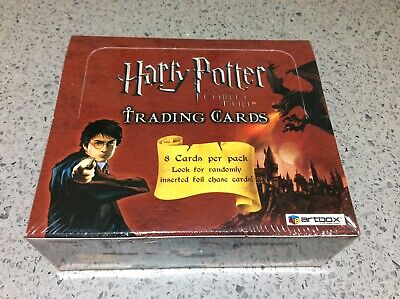 Harry Potter Goblet of Fire ARTBOX TRADING CARDS RETAIL BOX, NEW & SEALED