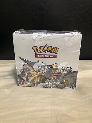 Pokemon TCG Sun & Moon Ultra Prism Booster Box 36-Packs Factory Sealed!