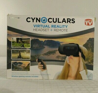 Virtual Reality Headset Glasses Remote Hype Cynoculars