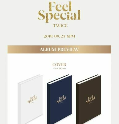 Twice 8Th Mini Album [Feel Special] 3Version Set, 1 Poster, Tracking Num