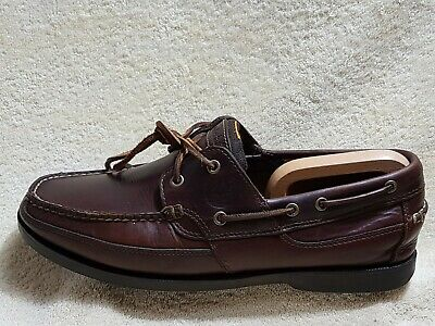 Timberland mens Deck shoes Leather Brown UK 11 EU 45