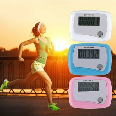 Portable Mini Digital LCD Running Step Pedometer Walking Distance Counter SW