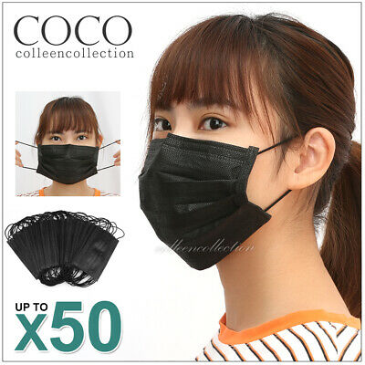 50 PCS Unisex Anti-Dust Disposable Bacterial Filter Surgical Face Mouth Masks