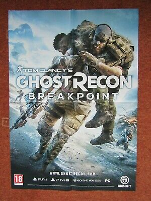 """Tom Clancy's Ghost Recon Breakpoint:A1 Double Sided Poster, 23.4"""" x 33.1"""""""