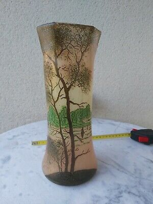 Vase Legras Decor Voilier