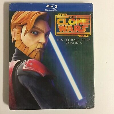 Star Wars The Clone Wars Saison 5 Blu-Ray neuf sous blister c18