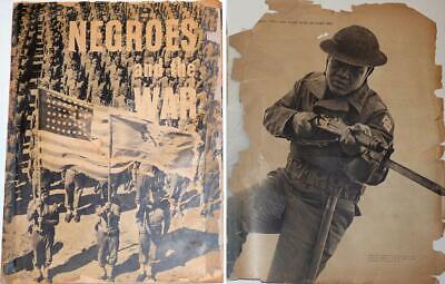 1942 - African-American World War Two Recruitment Booklet