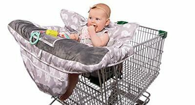 2-in-1 Baby Shopping Cart Cover and High Chair Protector - Germ-Protecting Seat